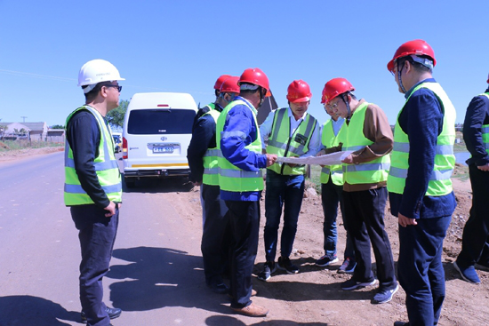 Song Xin Visits Lesotho to Attend Chinese Enterprises Seminar and Investigate China Geo-Engineering Corporation's Southern Africa Operations
