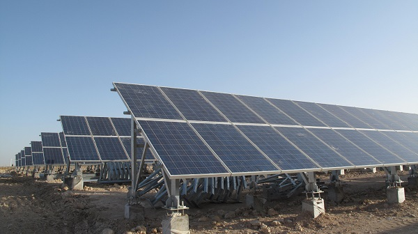 CECEP's 30MW photovoltaic power generation project in Shizuishan, Ningxia Hui Autonomous Region