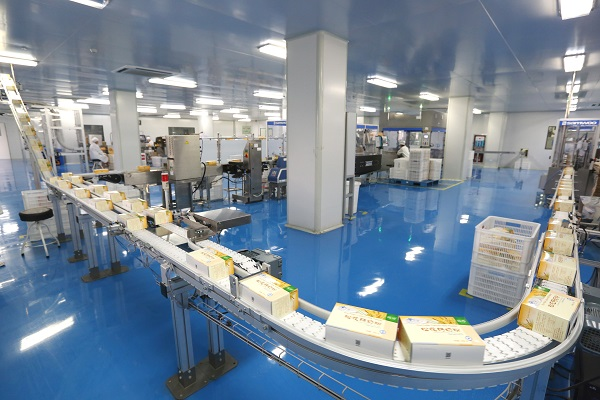 New Era's production line for healthcare products